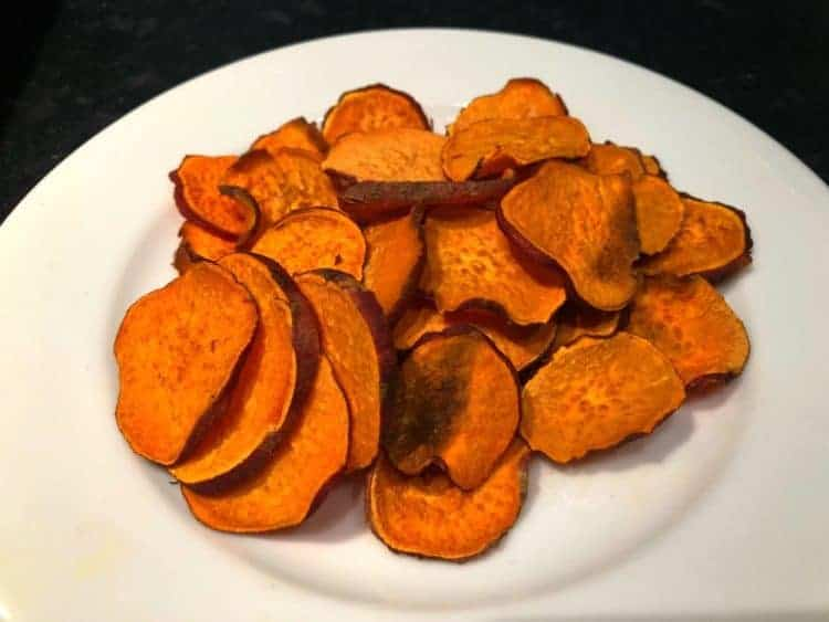 Makeover Sweet Potato Chips, the Crispy Alternative to Sweet Potato Fries