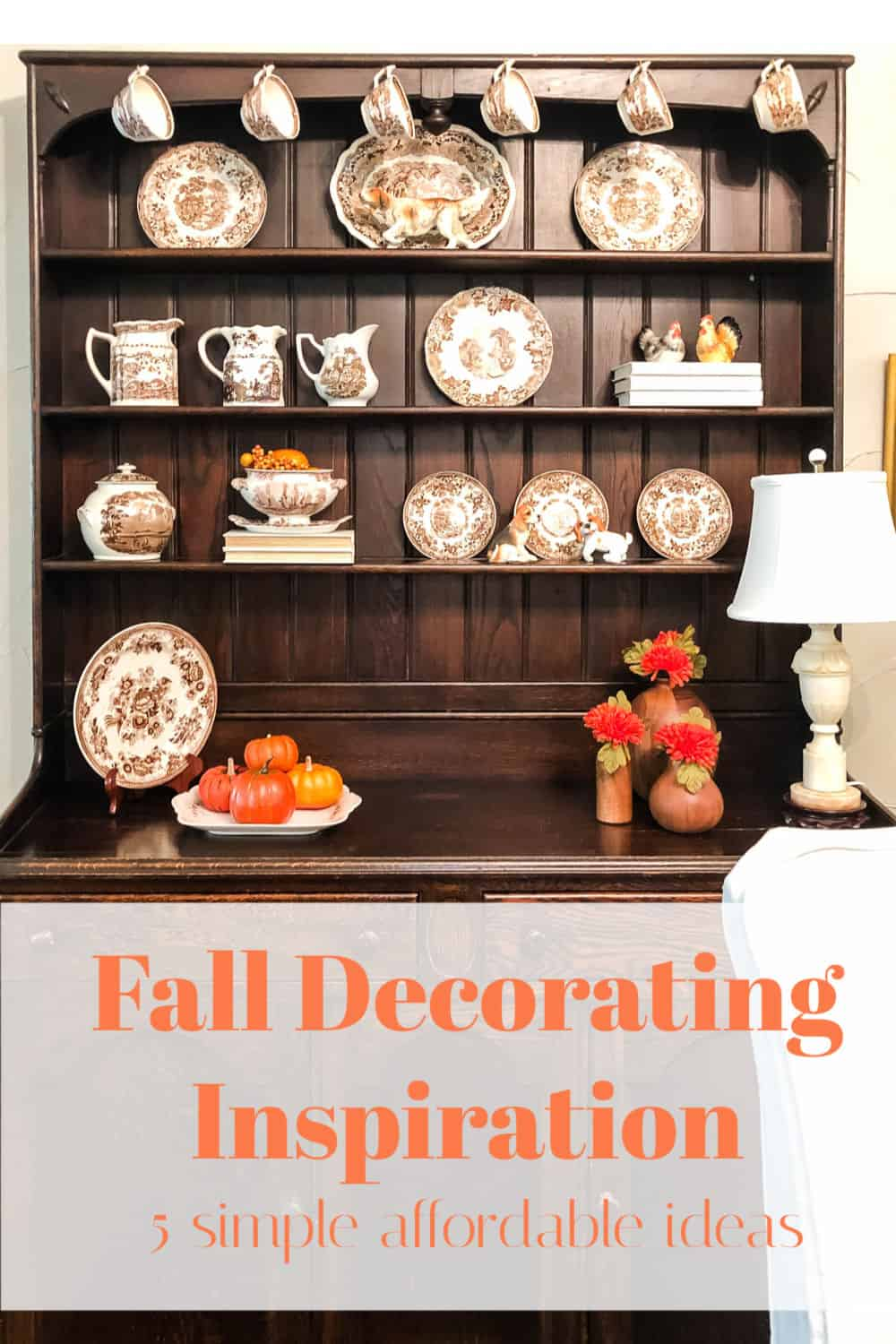 fall decoratin inspiration