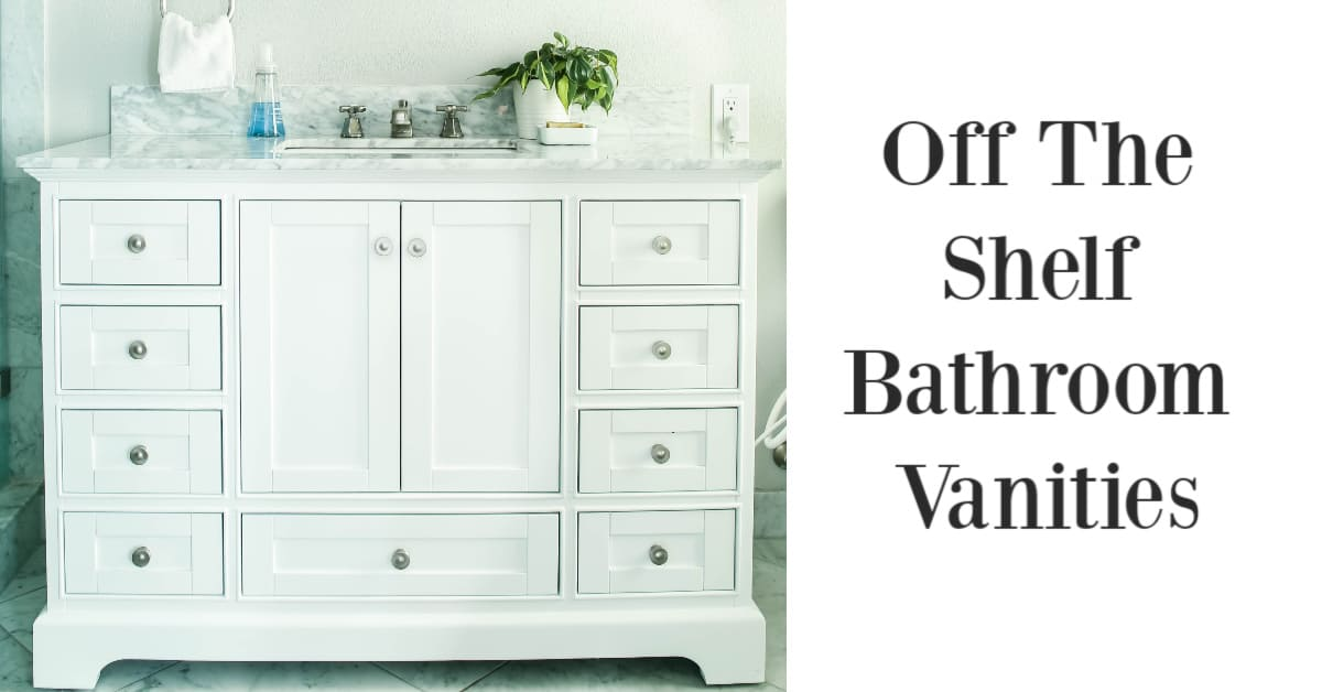How to Buy Inexpensive Bathroom Vanities