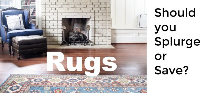 Should you splurge or save on rugs