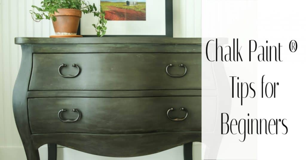 No fail chalk paint tips for beginners. Transform your furniture with these techniques.