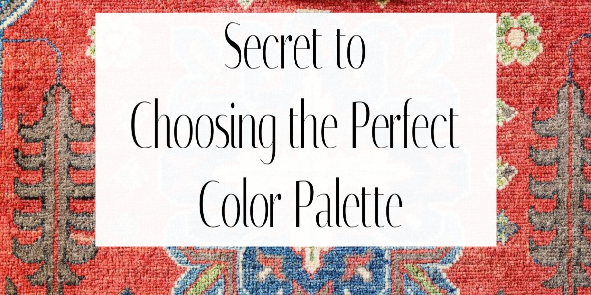 Secret to choose the perfect color palette