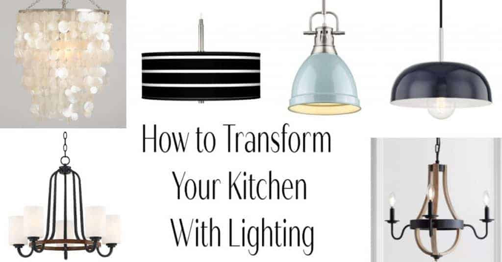 Makeover your kitchen with lighting