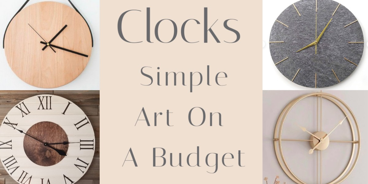 Simple Wall Clock Decor Ideas