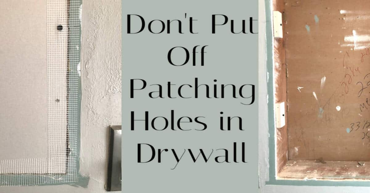 Guide to patching drywall