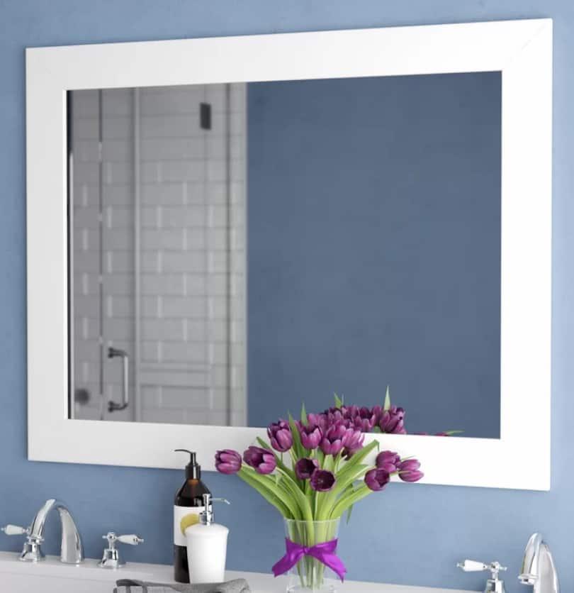 Cheap Bathroom Mirror Ideas Design Morsels