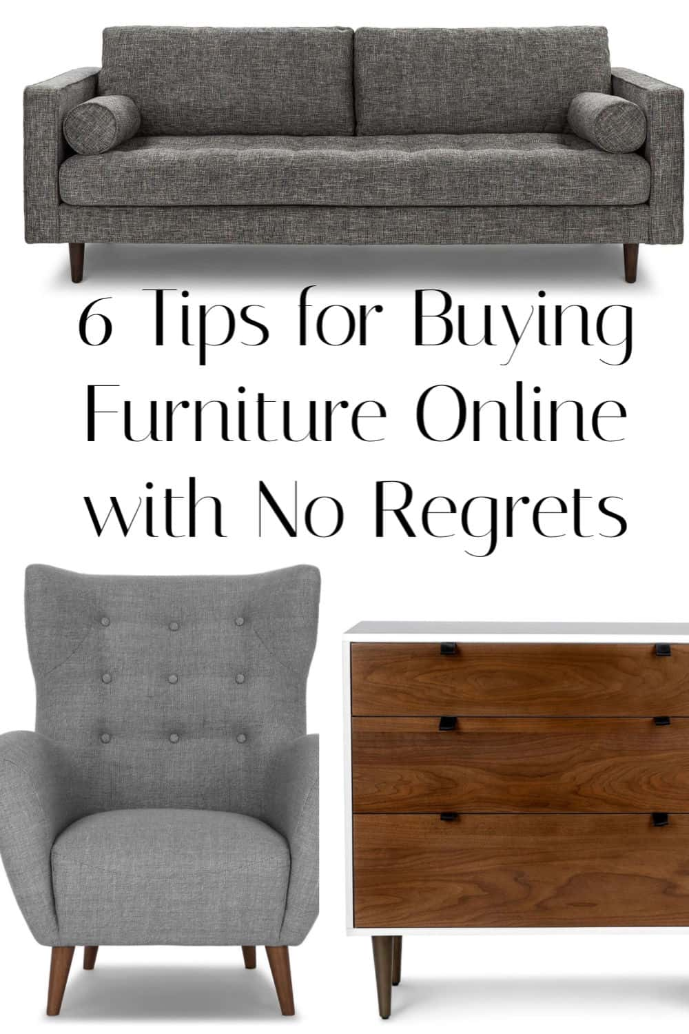 tips for buying furniture online with no regrets