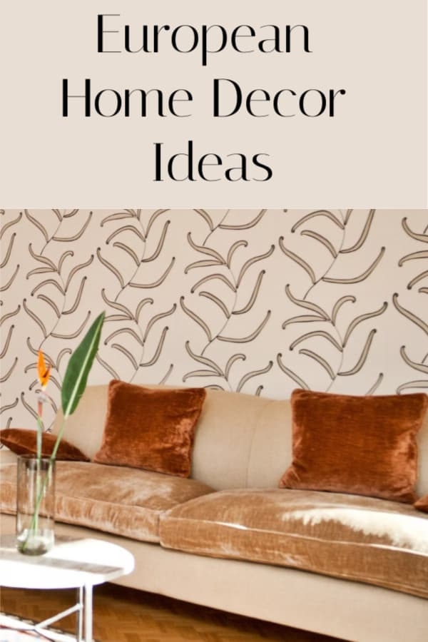 European home decor ideas