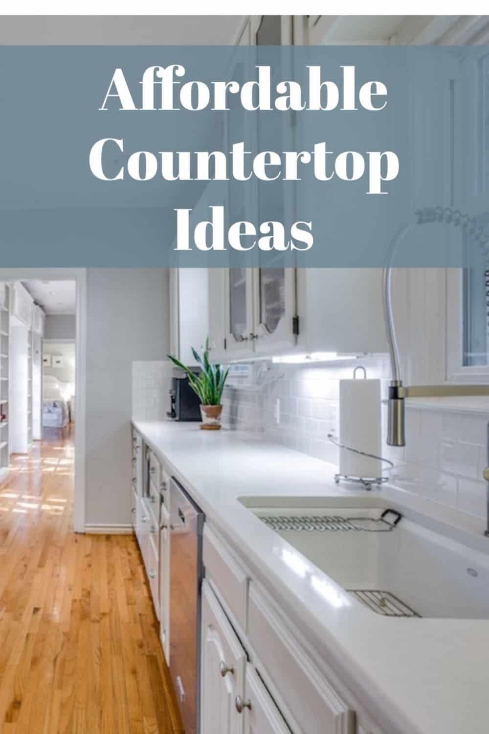 Affordable countertop ideas