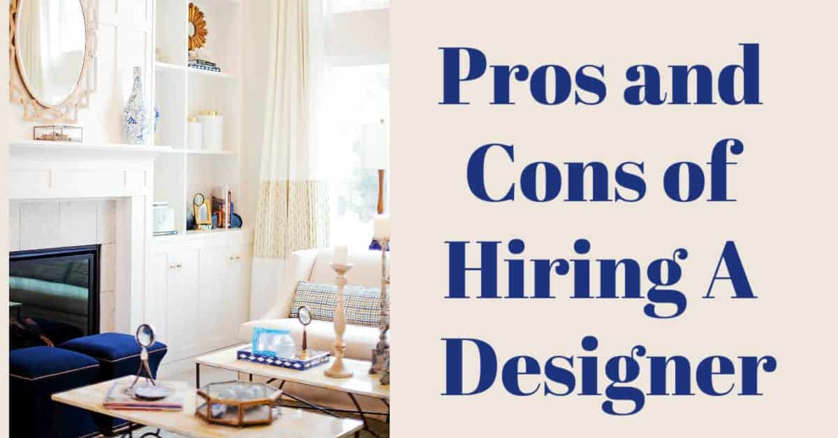 Pros and cons of hiring a designer