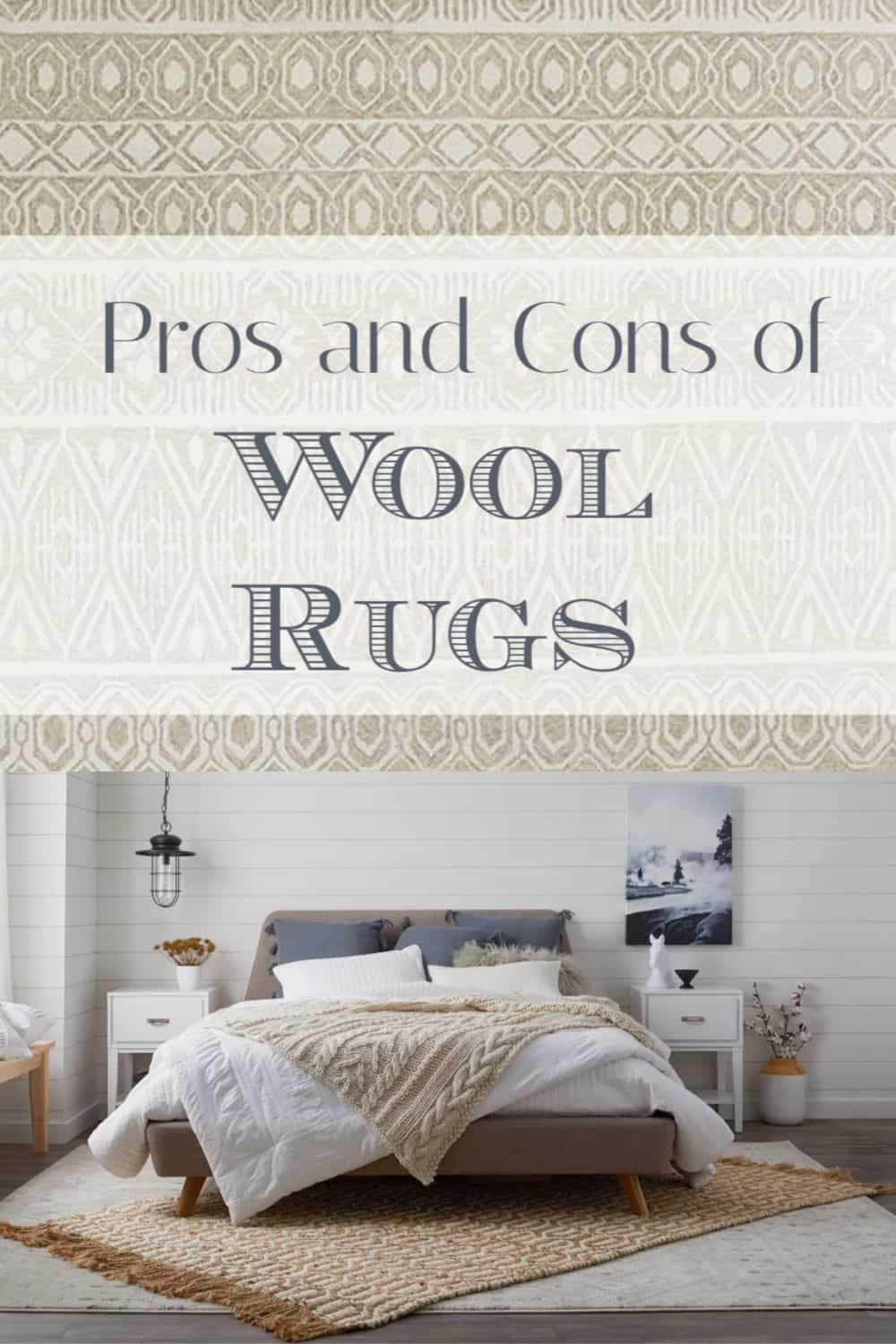 pros and cons of wool rugs