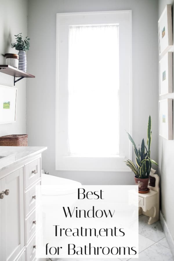 best window treatments for bathrooms