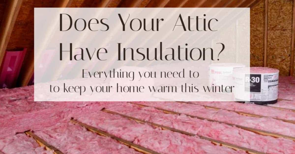 Attic Insulation guide