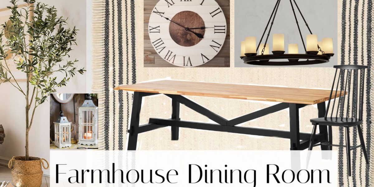 Farmhouse Dining Decor