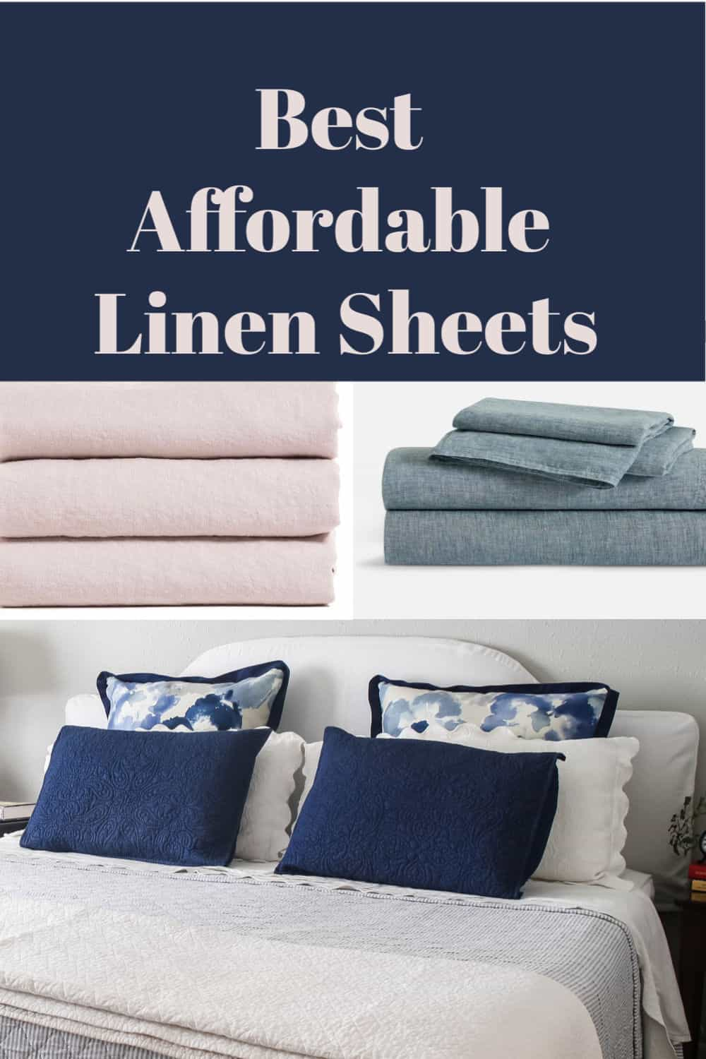 best affordable linen sheets