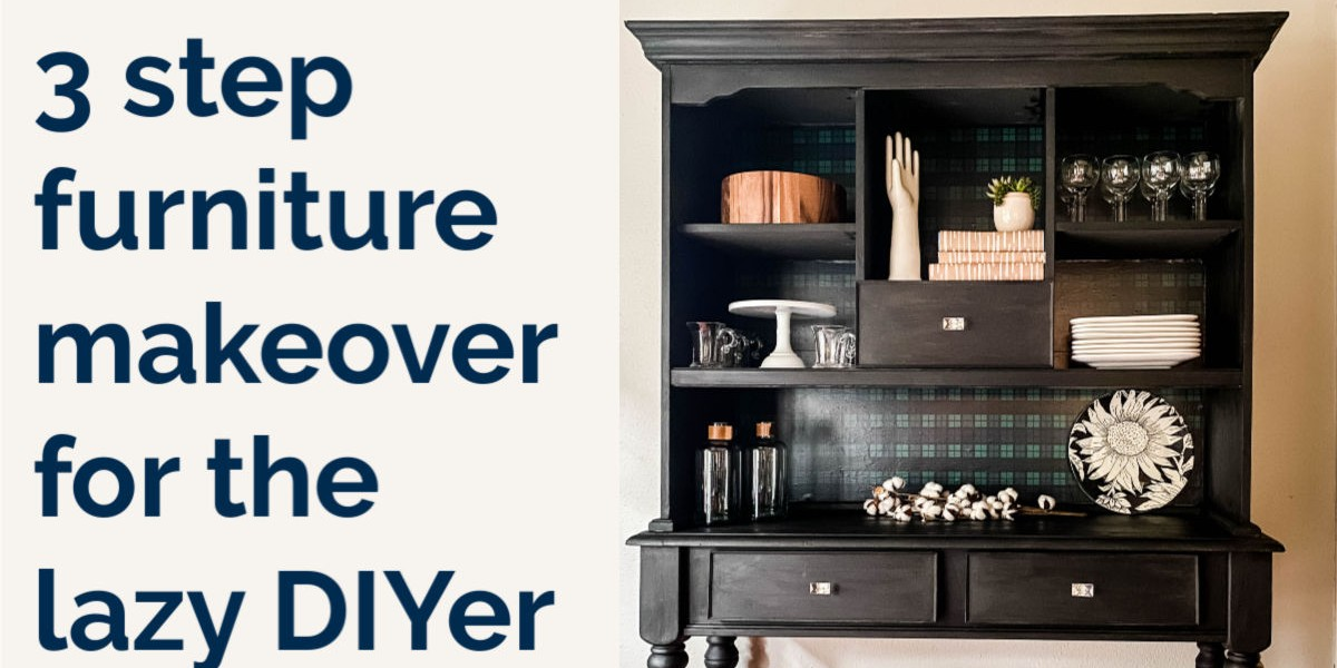 Easy Furniture Makeover Anyone Can Do