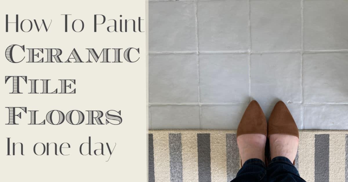 Painting Tile Floors – A Beginner's Guide