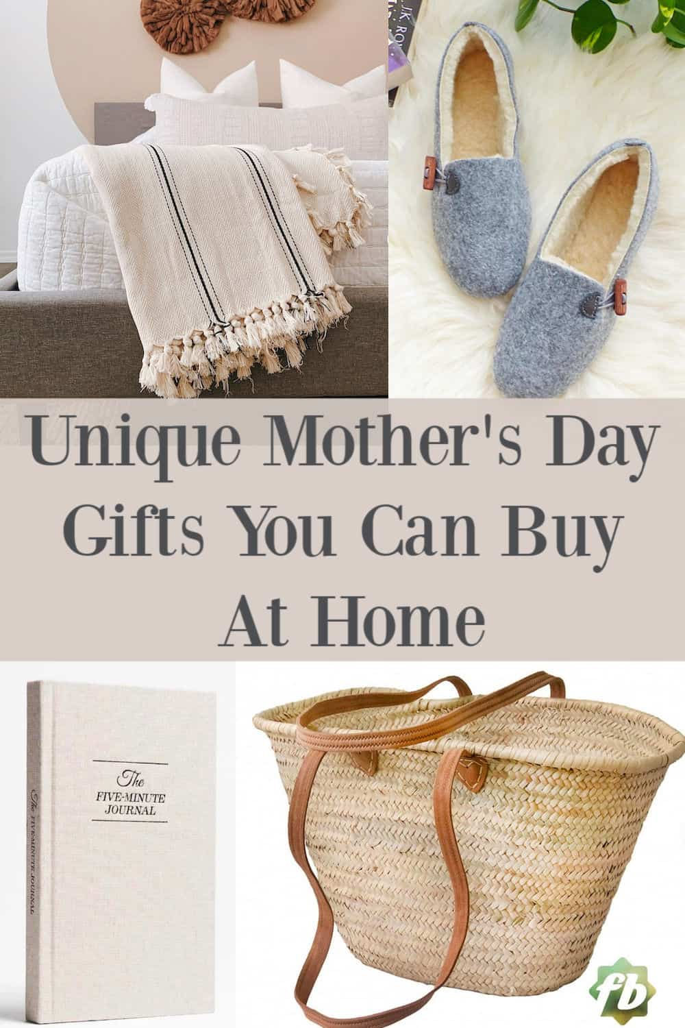 Unique Mother's Day Gifts you can buy in 2020 from home