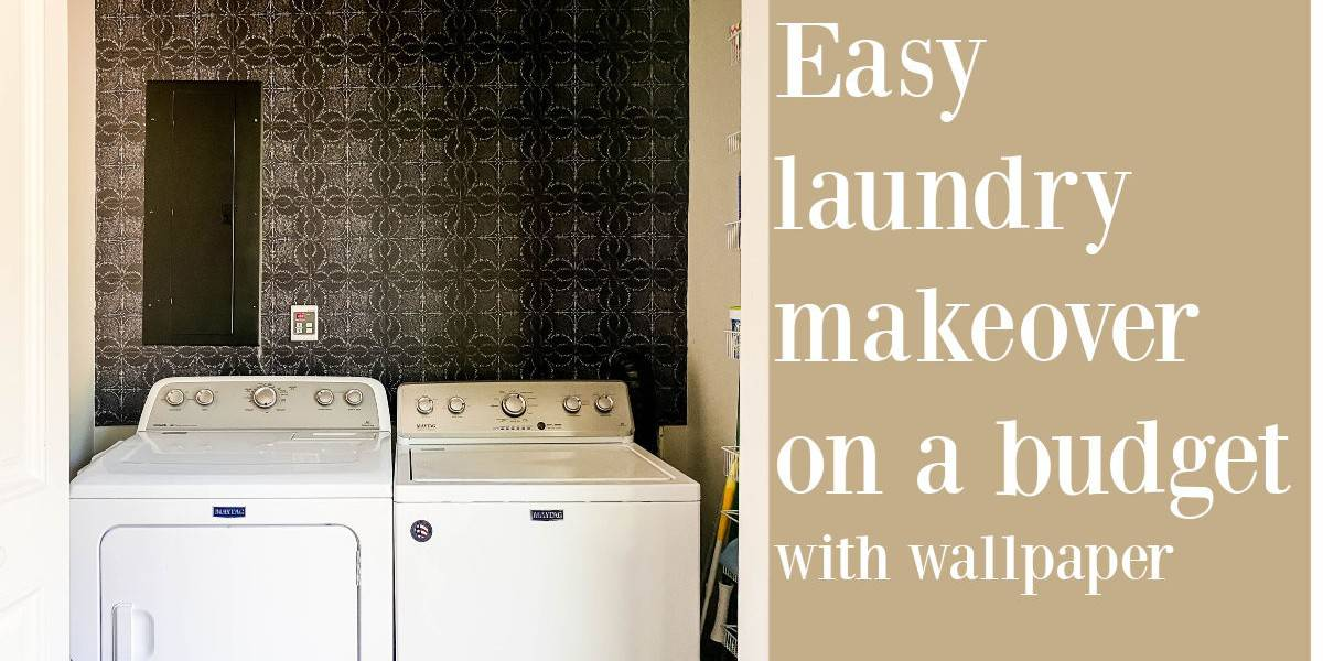 Small Laundry Room Wallpaper Ideas