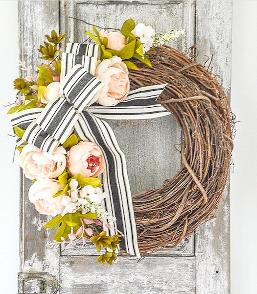 Spring wreath from the Stone Gable
