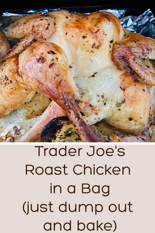 Trader Joe's Spatchcocked chicken