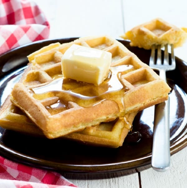 homemade waffles you can freeze