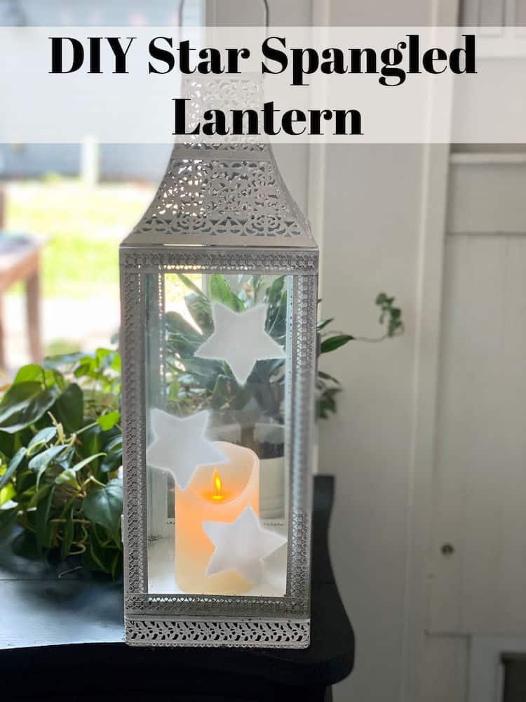 festive star lantern