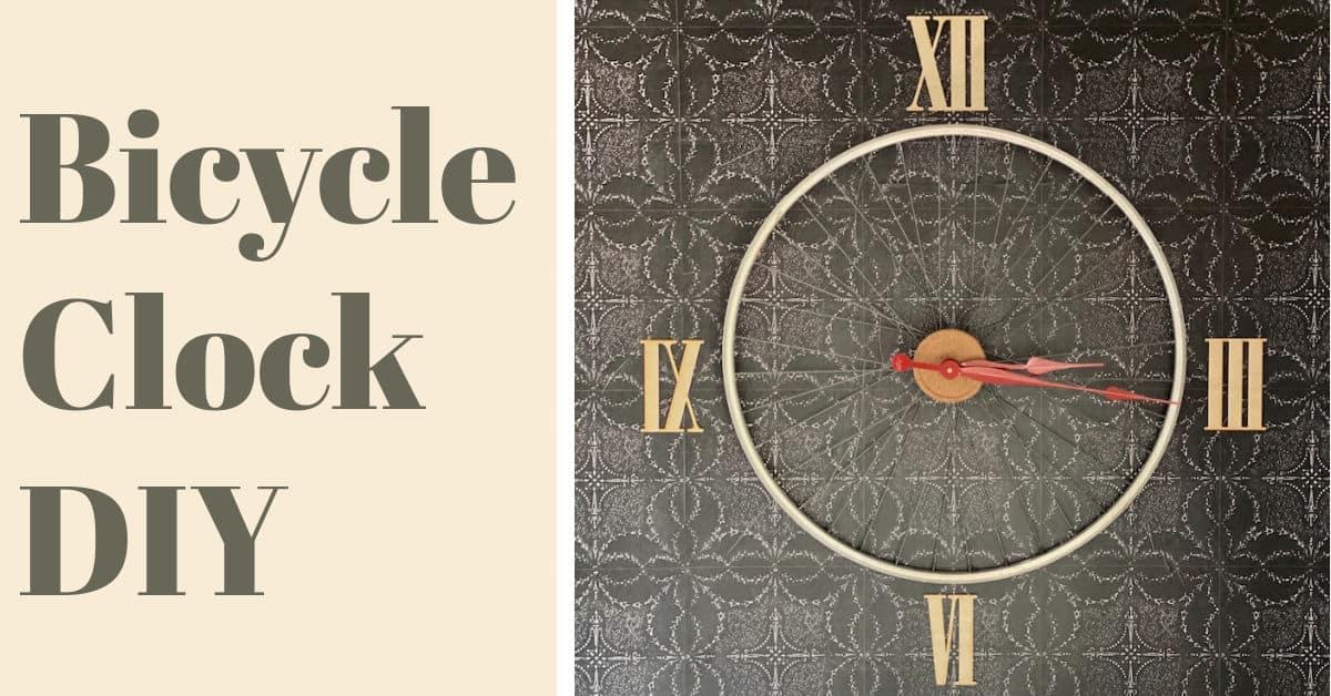 DIY Bicycle Clock
