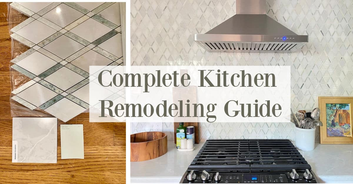 Steps to Remodel A Kitchen