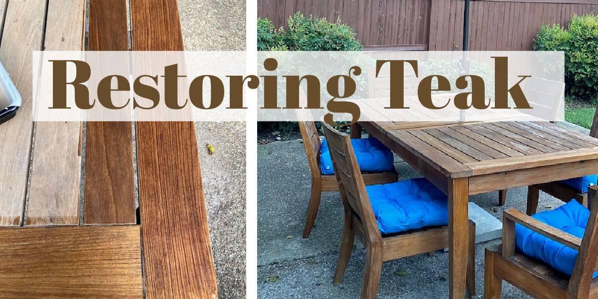 Restoring Teak Furniture
