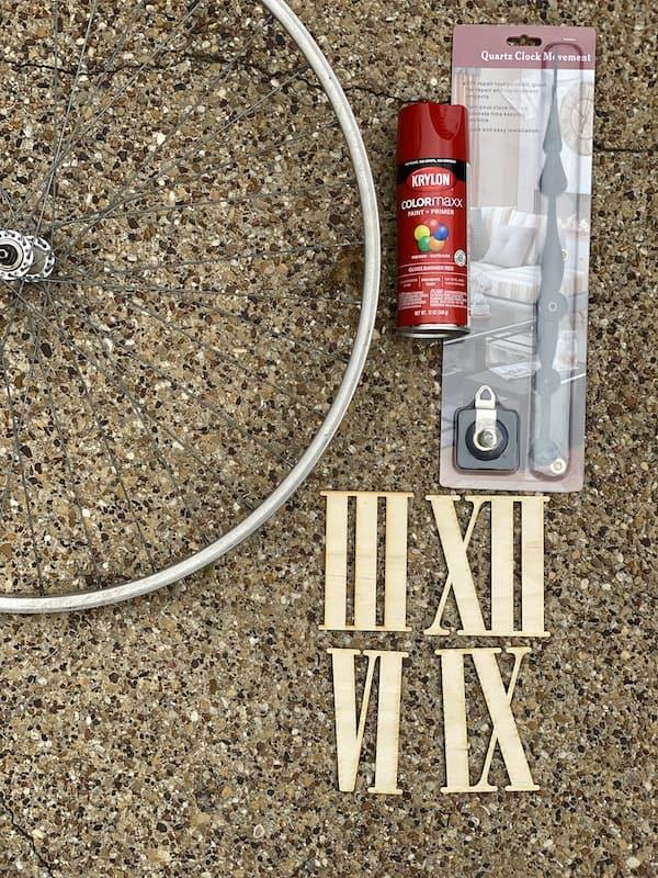 bicycle clock supploies
