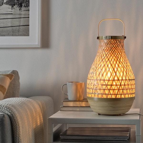 Ikea new bamboo lamp