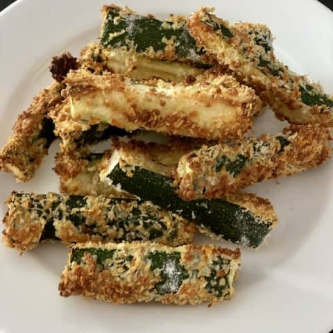 air fried zucchini
