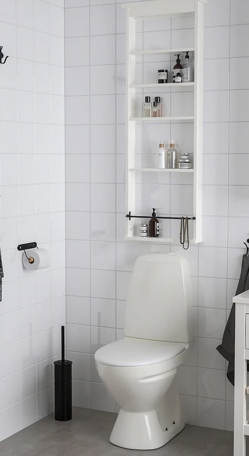 IkEAs new over toilet storage cabinet