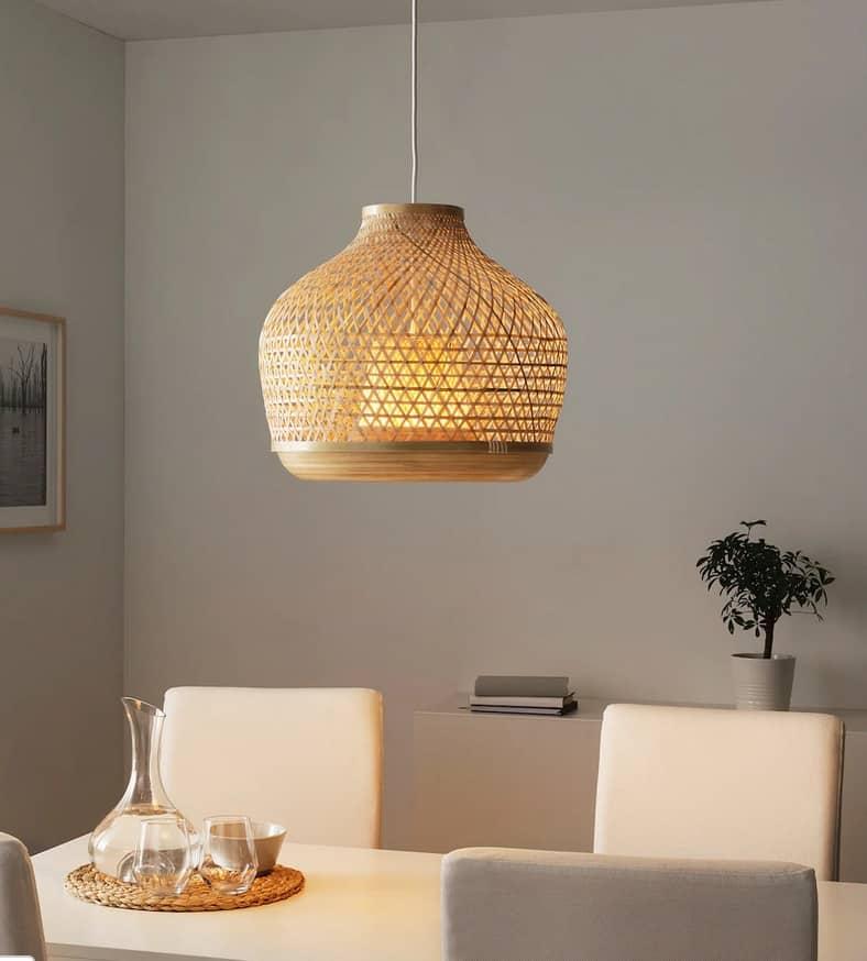 Ikea new bamboo light