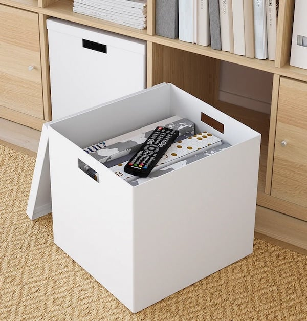 new storage box ikea