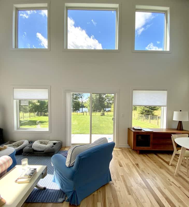lake house windows
