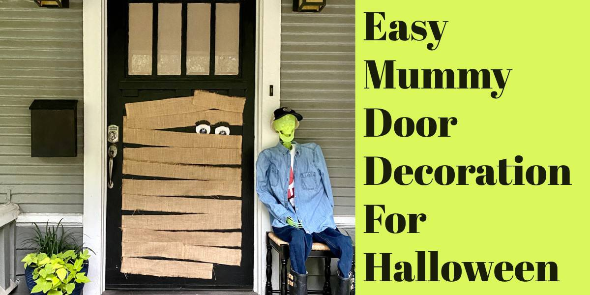 mummy door decoration