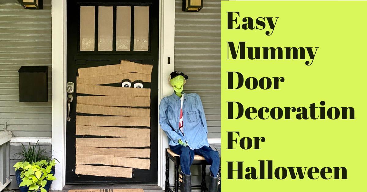 Mummy Door Decoration