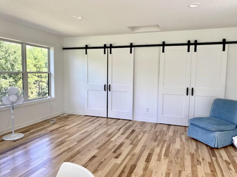 loft sewing room
