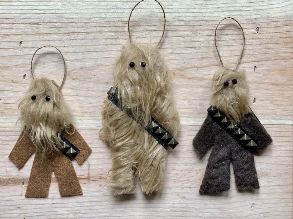 Chewbacca Star Wars Christmas Ornaments