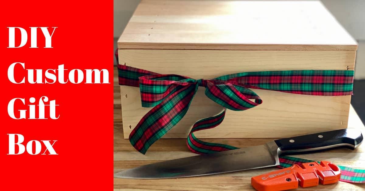 DIY Custom Gift Box – Three Options for Christmas
