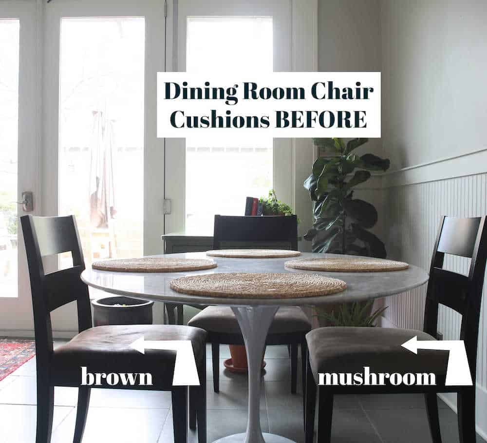 Reupholster Dining Chair Cushions