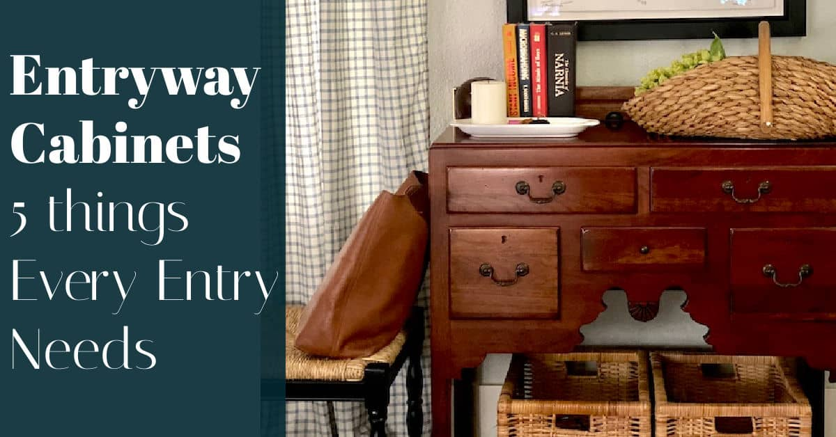 Entryway Cabinets for Small Spaces
