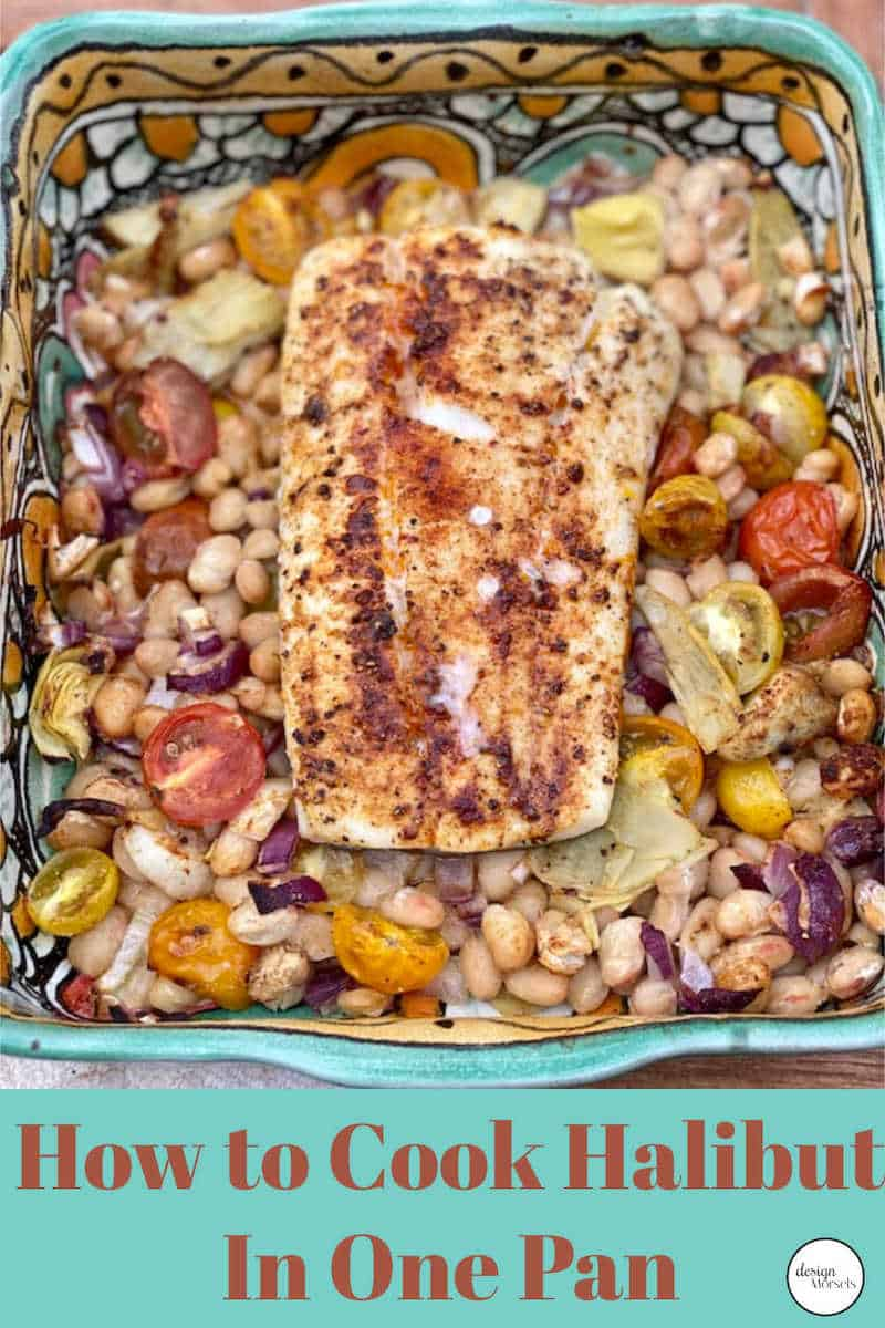 How to cook one pan halibut