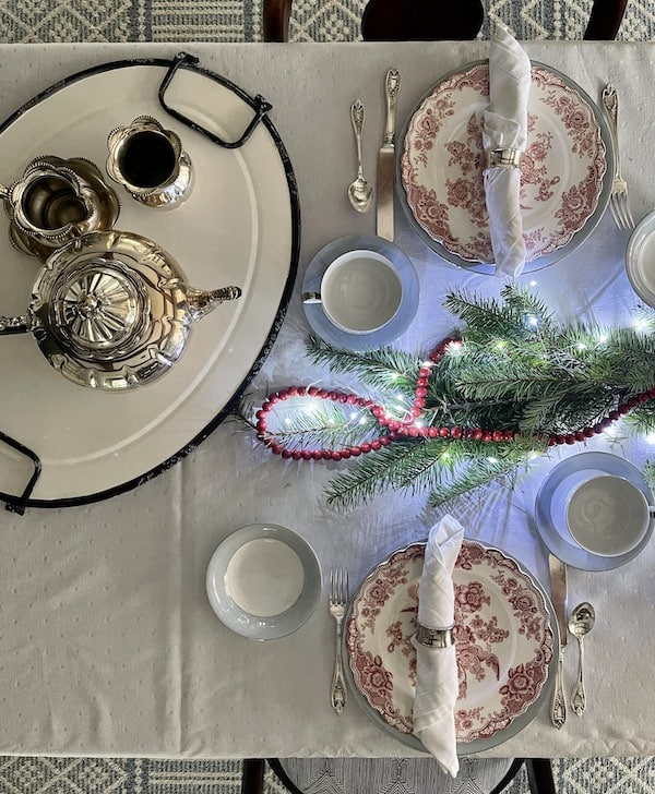 Christmas table top decorations