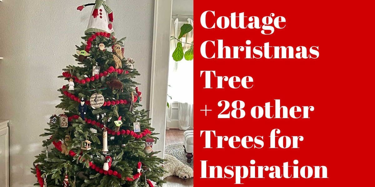 A Cottage Christmas Tree