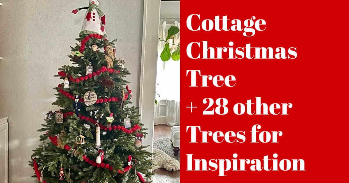 A Cottage Christmas Tree