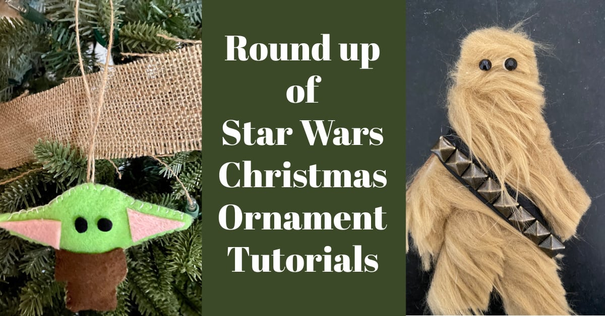 Round Up of Star Wars Ornaments