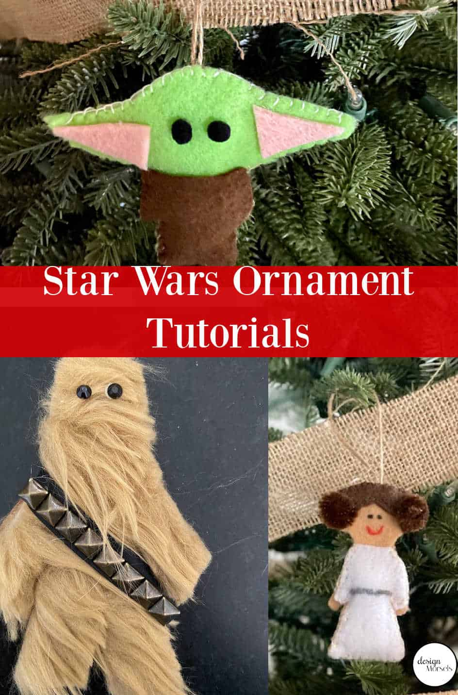 Star Wars Christmas ornament round up